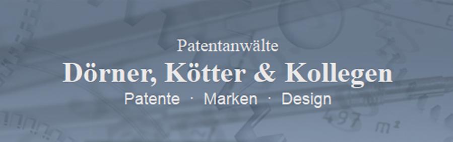 Dörner, Kötter & Kollegen - Patentanwälte' - www_doerner-koetter_de