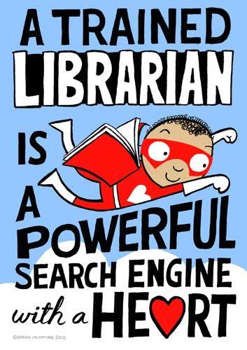 Suchmaschine mit Herz - Ihre Bibliothekarin