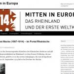 1914 – Mitten in Europa: Am Montag beginnt eine Tagung in Bonn