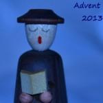 Advent 13 blau