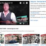 """Der Youtube-Kanal """"Der Erste Weltkrieg"""" musste leider eingestellt werden"""