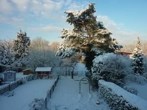 Na ja gut, so wird es dieses Jahr an Weihnachten nur selten aussehen - ein Wintertraum halt bei Frühlingstemperaturen ;-)