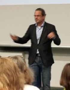 Prof. Dr. Christian Bauckhage bei der Diggi 17