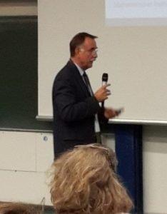 Prof. Dr. Tassilo Küpper bei der Diggi 17
