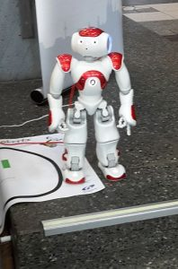 nao, der humanoide Roboter auf der Diggi 17