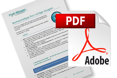 Recherchedienst pdf-Download