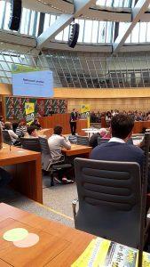 Tag der medienkompetenz Eröffnung Landtag NRW Plenarsaal