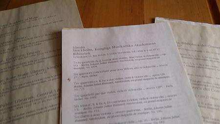 Recherche Anno dunnemals RISm fertige Liste