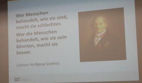 Goethe-zitat von der #future19