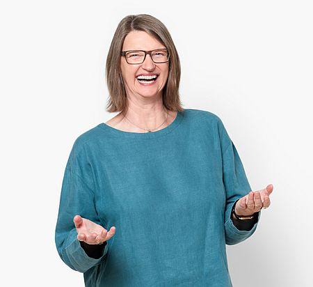 Foto Heike Baller als Recherchemeisterin