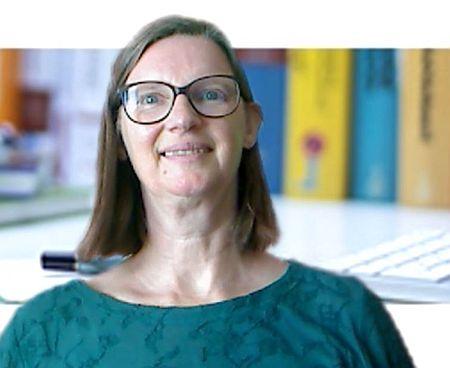 Heike Baller als Seminarleiterin bei einem ihrer Online-Seminare