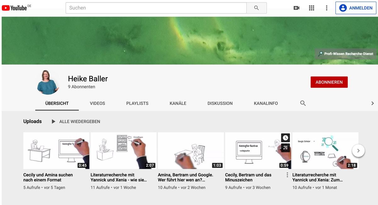 Profi-Wissen auf YouTube