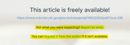 Screenshot mit Text: This article is freely available! https://doi.org/10.15607/rss.2017.xiii.014  Not what you were expecting? Report an error. You can request it from the author if it isn't available.